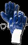 ХБ нитриловые с неполным покрытием, манжета-резинка (Россия)
