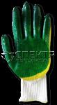 Перчатки латексные  ХБ с двойным латексным покрытием, 13 класс (Россия)