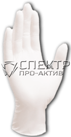 Латексные опудренные перчатки