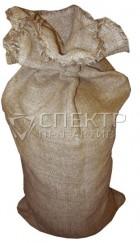 Джутовый мешок, размер 56x96 см, плотность 300 гр/м2