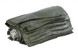 Полипропиленовый, серый (40-45кг), размер 55х95 см