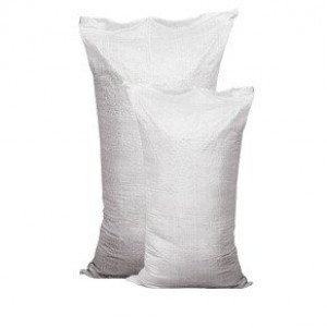 Полипропиленовый мешок, белый (большой), размер 70х120 см