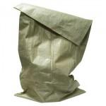 Полипропиленовый мешок, зеленый (35-40кг), размер 55x105 см