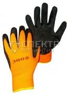 Перчатки стекольщика нейлоновые (со вспененным латексным покрытием)