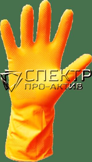 Резиновые опудренные перчатки