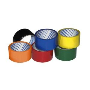 Скотч упаковочный цветной 48мм x 50м