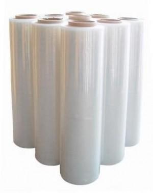 Пленка (стрейч) прозрачная 23 мкм (2-ой сорт), Вес 1.5 кг