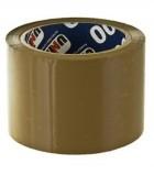 Скотч шириной 72 мм (Unibob), Коричневый