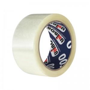 Скотч шириной 48 мм, Прозрачный, плотность 50 мкм (Unibob)
